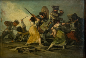 Obra: Episodio de la invasión francesa - Francisco de Goya