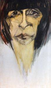 Obra: Retrato de Eva Olivetti - Hilda López
