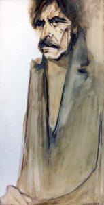 Obra: Retrato de Juan Zaffaroni - Hilda López